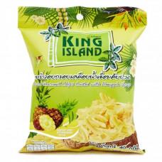 Кокосовые чипсы с ананасом King Island