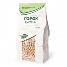 Горох русский, зерно для проращивания 500 гр