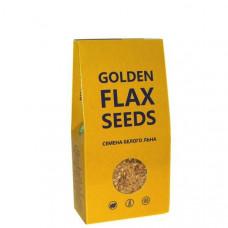 Лён БЕЛЫЙ семена премиум класса Golden 150гр (Компас здоровья)