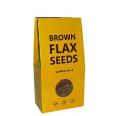 Brown FLAX Seeds семена льна коричневого,Компас Здоровья 150гр