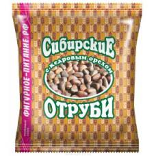 """Отруби """"Сибирские"""" пшеничные с кедровым орешком, 200г"""