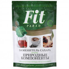 Заменитель сахара на основе эритрита ФитПарад 400 гр №1 (дой-пак)