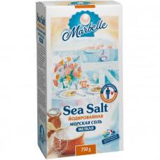 Йодированная морская соль Marbelle, мелкая, 750 г