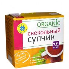 """Суп-пюре ( Свекольный ) """"Компас здоровья"""" 210 гр."""