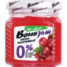 ДЖЕМ «BOMBJAM» БРУСНИКА (250Г)