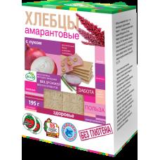 """Хлебцы амарантовые с луком """"Di&Di"""""""