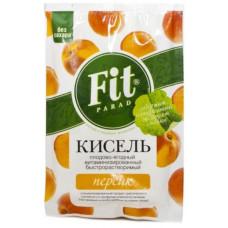 Кисель витаминизированный быстрорастворимый Персик на стевии Fit Parad, 30г