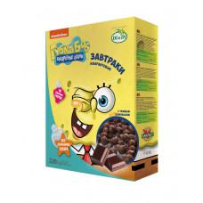 """Завтраки без глютена амарантовые """"Губка Боб"""" в шоколадной глазури, витаминизированные"""