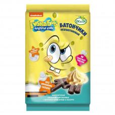 """Батончики амарантовые """"Губка Боб"""" с начинкой крем-брюле в глазури, витаминизированные"""