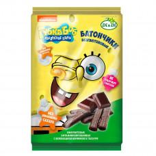 """Батончики амарантовые """"Губка Боб"""" с шоколадной начинкой в глазури, витаминизированные"""