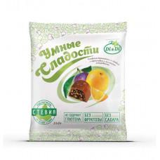 """Конфеты """"Умные сладости"""" с черносливом и апельсином, глазированные"""