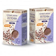 Готовый завтрак из хлопьев полбы шоколадные мини 200 гр