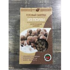 """Готовый завтрак из полбы """"Шоколадные шарики"""" 200 гр ВастЭко"""