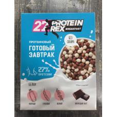 PROTEIN REX Сухой завтрак с высоким содержанием белка Шоколад 250гр