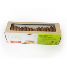 Печенье из овсяных отрубей с семенами Чиа
