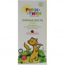 Рики-Тики Детская зубная паста со вкусом клубники