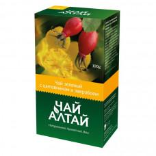 «Чай Алтай» зеленый с шиповником и зверобоем Алтайский кедр