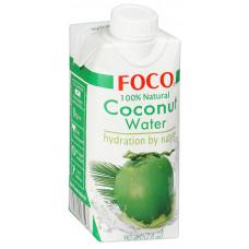 Вода Foco кокосовая 330мл