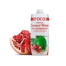 Кокосовая вода с соком граната FOCO