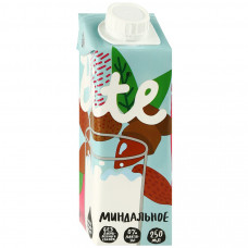 Растительное молоко Bite миндальное 250 мл