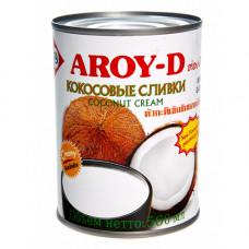 Кокосовые сливки Aroy-D 560 мл.