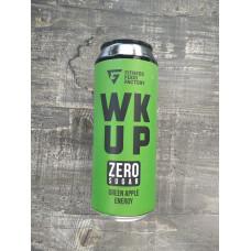 Тонизирующий безалкогольный напиток WK UP, 500 мл (Fitness Food Factory) Зеленое яблоко