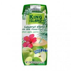кокосовая вода с фруктовыми соками (яблоко, лайм, гуава) King Island