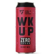 Тонизирующий безалкогольный напиток WK UP, 500 мл (Fitness Food Factory) Berry mix
