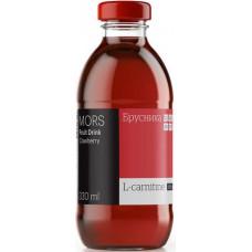 Морс низкокалорийный с L-карнитином Брусника , 0,33 л