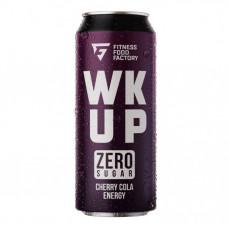 Тонизирующий безалкогольный напиток WK UP, 500 мл (Fitness Food Factory) Вишня-Кола