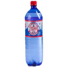 Вода Stelmas Mg, с газом, 1л, пластик