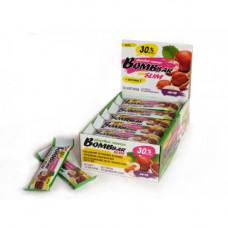Батончик Bombbar Slim «Здоровый перекус» с орехами