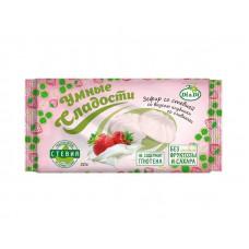 Зефир «Умные сладости» со стевией Клубника со сливками 50 г