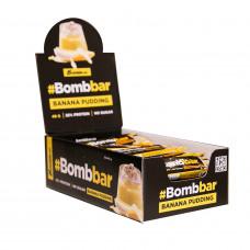 Протеиновый батончик Bombbar Банановый пудинг в шоколаде 40 г