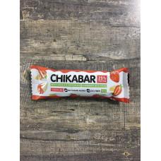 CHIKALAB батончик глазированный с начинкой клубника со сливками , 60 г