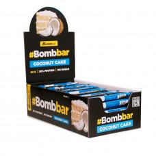 Протеиновый батончик Bombbar Кокосовый торт в шоколаде 40 г