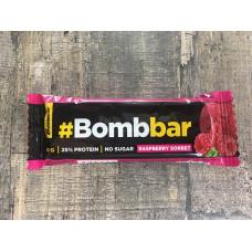 Протеиновый батончик Bombbar Малиновый сорбет в шоколаде 40 г