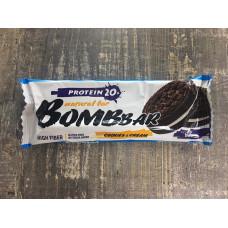 Bombbar Батончик неглазированный печенье-крем 60 гр.