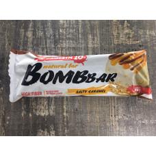 Bombbar Батончик неглазированный соленая карамель 60 гр.