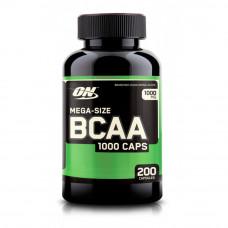 Optimum Nutrition Mega Size BCAA 1000 Caps (200 капс.)