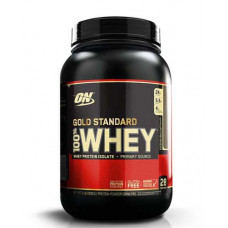 100% Whey Gold standard 912 гр - 2lb (Optimum nutrition) (вкусы разные)