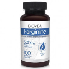 BIOVEA L-Arginine / Л - Аргинин 500 мг 100 капс.