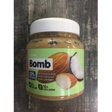 Акция! MISTER BOMB Миндальная паста с кокосом, 250 г