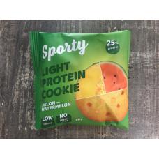 Печенье Sporty protein light  Дыня-арбуз 40гр