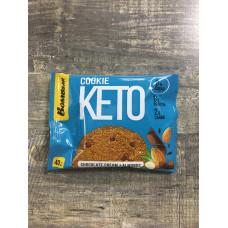 Bombbar печенье КЕТО , со вкусом шоколадного крема и миндаля, 40 г