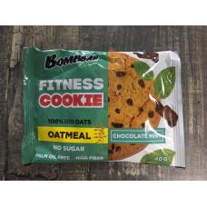 Bomddar печенье неглазированное овсяное Шоколад-мята 40 гр