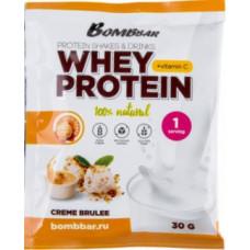 Bombbar протеин саше Крем-брюле 30 гр.