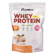 Bombbar Whey Protein 900 гр крем-брюле
