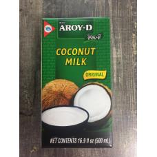 """Кокосовое Молоко 60% """"Aroy-D"""" 500 мл"""
